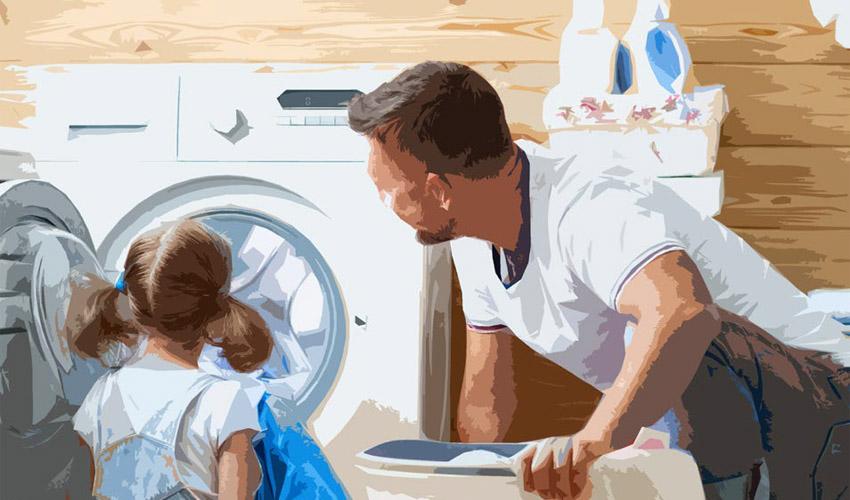 Sauberkeit der Kleidung